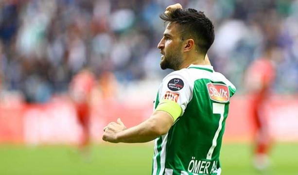 Ömer Ali en gollü sezonunu yaşıyor