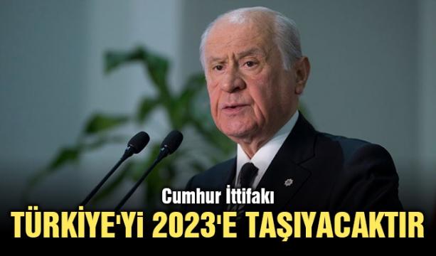 Cumhur İttifakı Türkiye'yi 2023'e taşıyacaktır