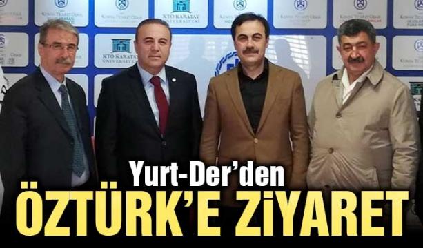 Yurt-Der'den Öztürk'e ziyaret