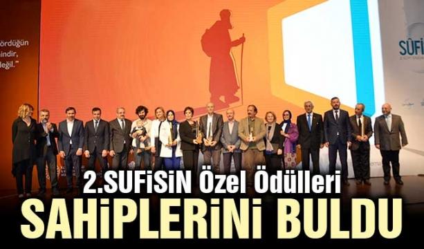 2.SUFİSİN Özel Ödülleri Sahiplerini Buldu
