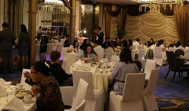 Türkiye'nin Cakarta Büyükelçiliğinden iftar programı