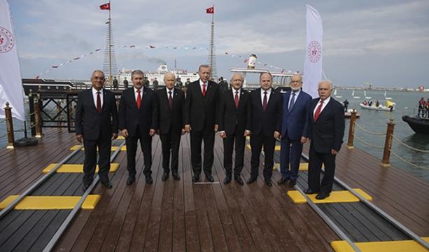 Devlet erkanı Samsun'da bir araya geldi