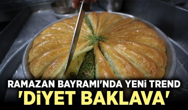 Ramazan Bayramı'nda yeni trend 'diyet baklava'