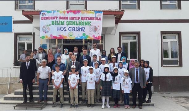 Derbent'te İHO'da 4006 TÜBİTAK Bilim Fuarı açıldı
