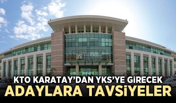 KTO Karatay'dan YKS'ye girecek adaylara tavsiyeler