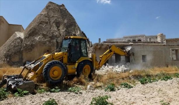 Kapadokya'da 17 yapının yıkımı için karar alındı