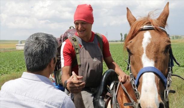 Vatani görevi için at sırtında yola çıkan Duman Yozgat'a ulaştı