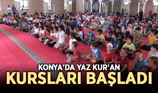 Konya'da yaz Kur'an kursları başladı