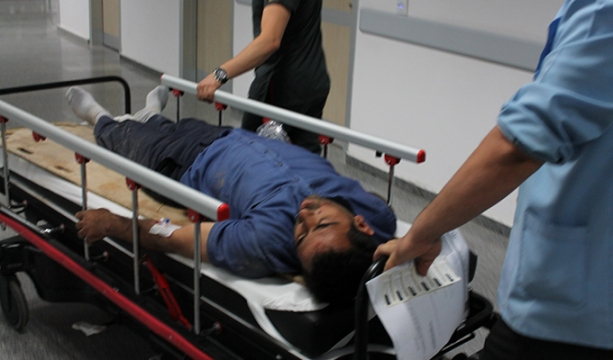 Aksaray'da minibüs devrildi: 1 ölü, 2 yaralı