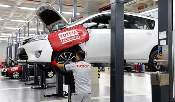 Konya Toyota'dan servis avantajları