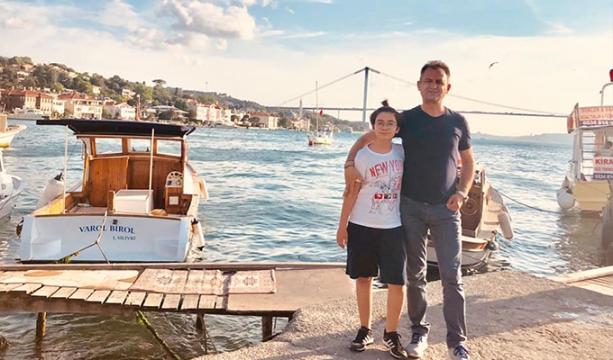 Uçar, İstanbul'un tadını çıkarıyor