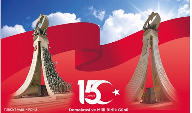 Ptt Aş'den '15 Temmuz Demokrasi Ve Milli Birlik Günü' Özel Gün Zarfı Ve Posta Kartı