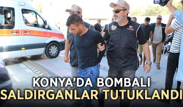 Konya'da bombalı saldırganlar tutuklandı
