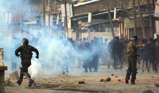 Cammu Keşmir'de çatışma: 2 ölü