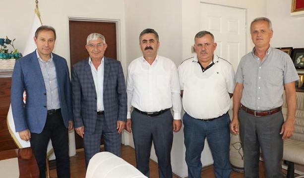 Turgut, Başkanlar ile bir araya geldi