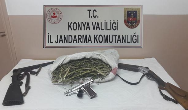 Halkapınar'da uyuşturucu operasyonu