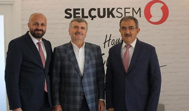 Milletvekili Akyürek, SELÇUKSEM'i ziyaret etti
