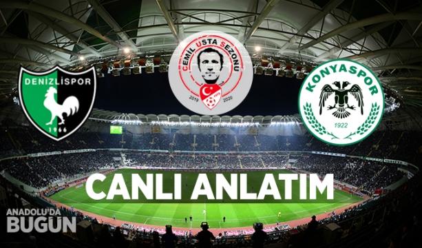 Yukatel Denizlispor - Konyaspor (CANLI ANLATIM)