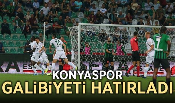Konyaspor galibiyeti hatırladı