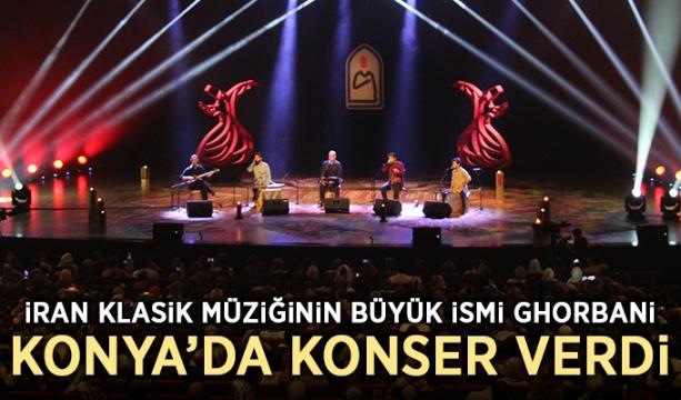 İran Klasik Müziğinin Büyük İsmi Ghorbani, Konya'da Konser Verdi
