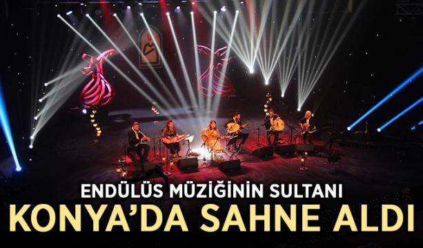 Endülüs Müziğinin Sultanı Konya'da Sahne Aldı