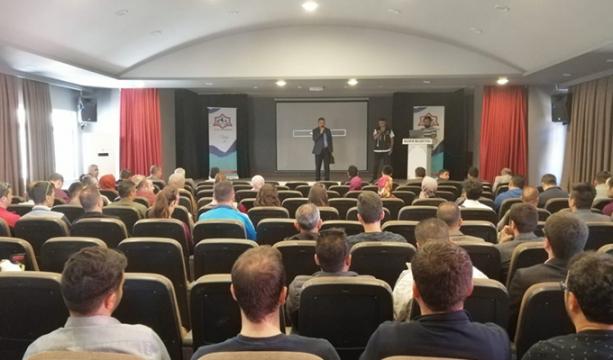 Bozkır'da bağımlılıkla mücadele semineri düzenlendi