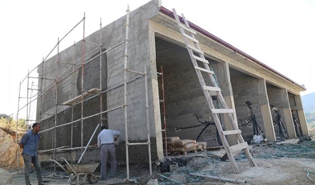 Hadim Sanayi Sitesi inşaatı sürüyor