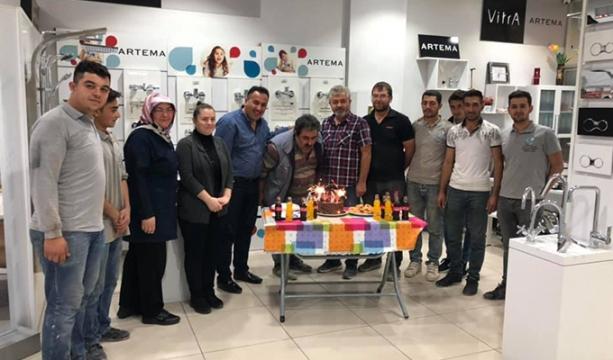 Göksu Tesisat'ta doğum günü