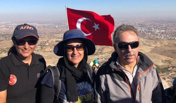 Toprak ve Özdemir ailesi Takkeli Dağ'da görüntülendi