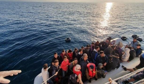 4 ayrı operasyonda 91'i çocuk 190 göçmen yakalandı