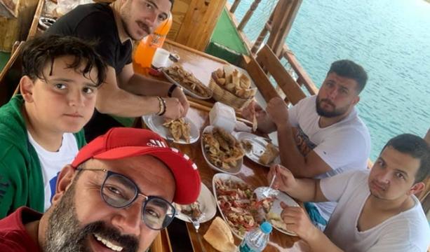Turgay Dinçer'den balık keyfi