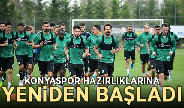 Konyaspor hazırlıklarına yeniden başladı