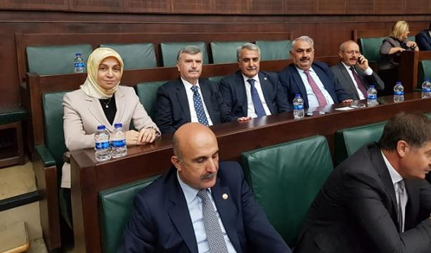 Konyalı vekiller grup toplantısında