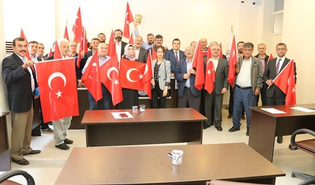 Beyşehir Belediye Meclisi'nden Barış Pınarı Harekatı'na Tam Destek