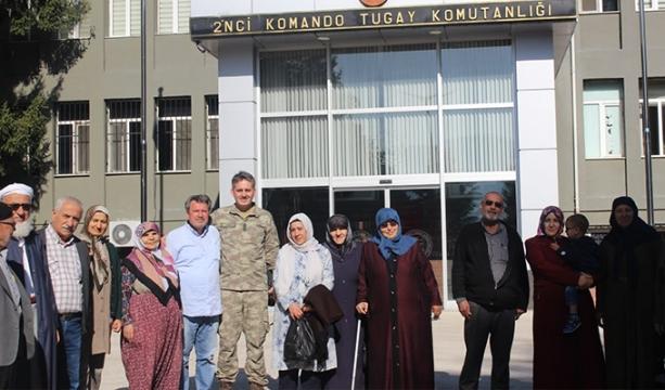 Şehit aileleri Bolu'da