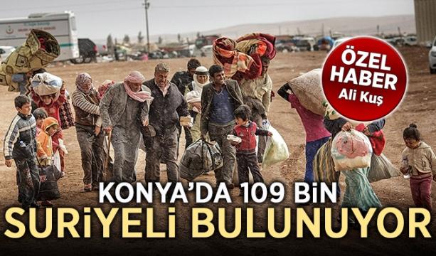 Konya'da 109 bin Suriyeli bulunuyor (Özel Haber)