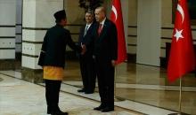 Cumhurbaşkanı Erdoğan Endonezya'nın Ankara Büyükelçisi İkbal'i kabul etti