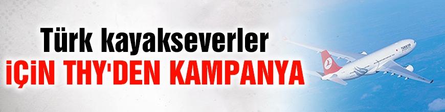 Türk kayakseverler için THY'den kampanya